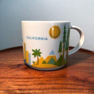 Starbucks You Are Here Mug- CA